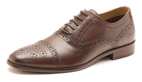 Red Tape Hartwell Brown 786 Shoes